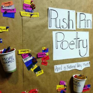Push Pin Poetry BB