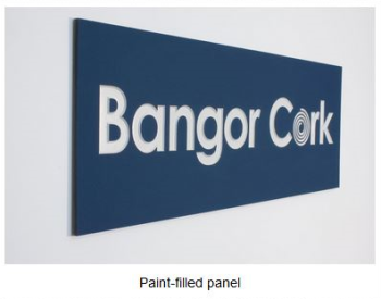 Paint-Filled Panel