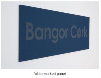 Watermarked Panel