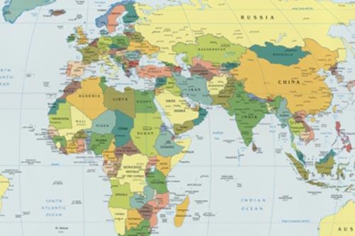 Shipping World Map