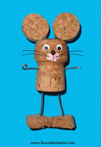 Lavoretti Creativi Stopper Mouse