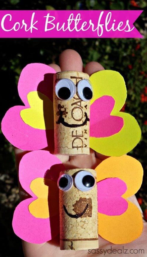 Cork Butterflies Sassy Dealz