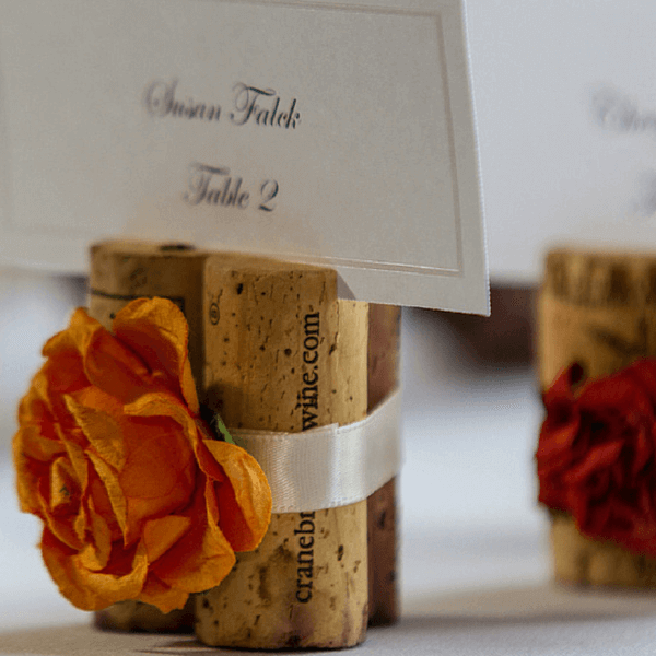 Fall Stopper Place Card Holder