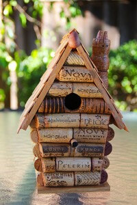 Stopper Bird House