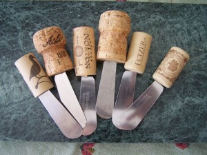 Stopper Cheese Knives