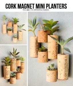 Stopper Mini Planters