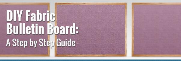 DIY Fabric Board Step