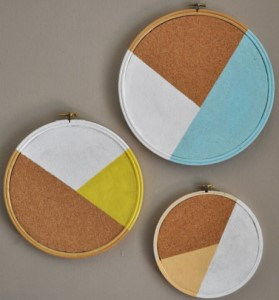 Mini Cork Round Boards